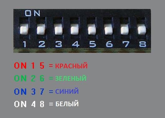 Настройка подсветки основных кнопок монитора